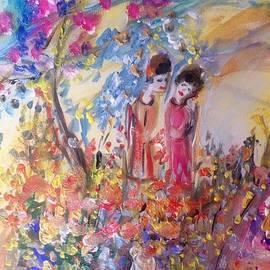 Judith Desrosiers - You say the gardener has been