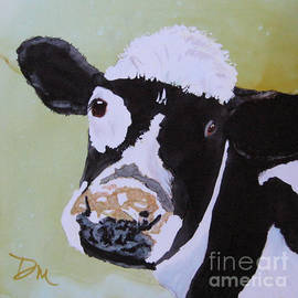 Diane Marcotte - Young Cow