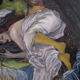Safir  Rifas - Young girl asleep