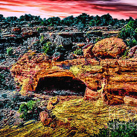 Bob and Nadine Johnston - Yucca Cave Canyon deChelly