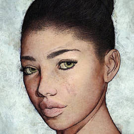 Maynard Ellis - Yvette Portrait