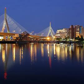 Juergen Roth - Zakim Bridge in Boston