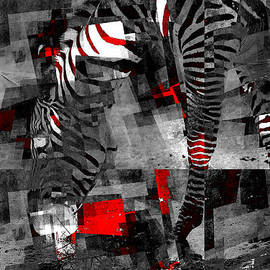Variance Collections - Zebra Art - 56a