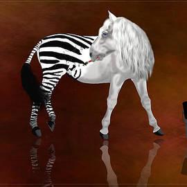 Davandra Cribbie - Zebra at Heart
