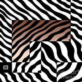 Joseph J Stevens - Zebra Squares