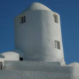 Colette V Hera  Guggenheim  - Zen Meditation Santorini Island Greece