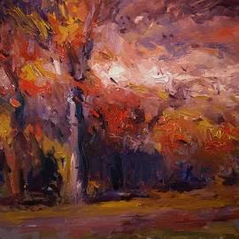 R W Goetting - Zephyr in autumn