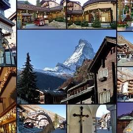 Julia Fine Art And Photography - Zermatt Switzerland at Christmas Time