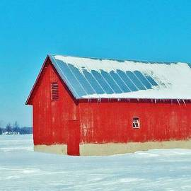 Daniel Thompson - Zink Rd Farm 1 Small Barn Winter 2.2014