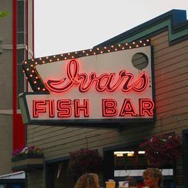 Kym Backland -  Iconic Ivars Fish Bar Neon
