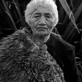 John C Bourne -  Portrait of Mataroa
