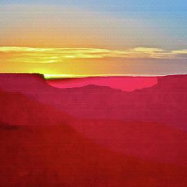 Bob and Nadine Johnston -   Sunset at Grand Canyon Desert View