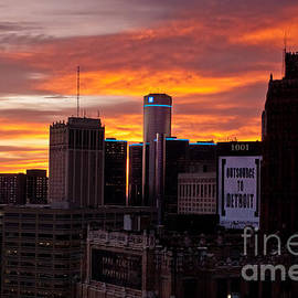 Tina Logan - Detroit Sunrise