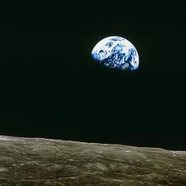 Nasa - Earthrise Over Moon, Apollo 8