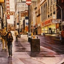 James Guentner - Fifth Avenue In The 80s