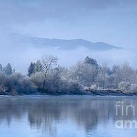 Idaho Scenic Images Linda Lantzy - Icy Blue