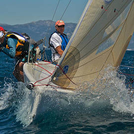 Steven Lapkin - Lake Tahoe Sailboat Racing