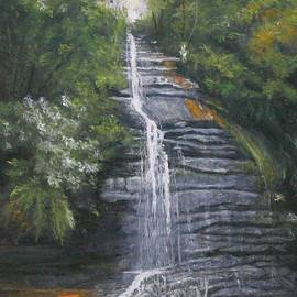 Alan Thomas - Leura Blue Mountains Waterfall