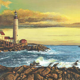 Stuart B Yaeger - light house Nova Scotia