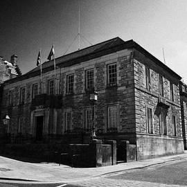 Joe Fox - linlithgow west lothian council county buildings heritage information centre scotland
