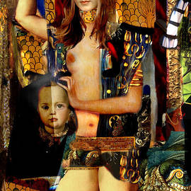 Karine Percheron-Daniels - Madonna and Child