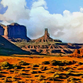 Bob and Nadine Johnston - Monument Valley Painting