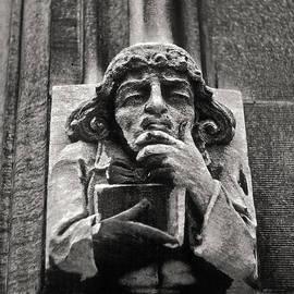 Joseph Duba - Pondering Gargoyle University of Chicago 1976