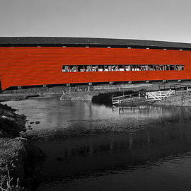 Sally Weigand - Red Covered Bridge