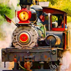 Jerry L Barrett - Steam Train