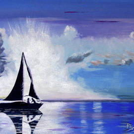 Phyllis Kaltenbach - Sunset Sail