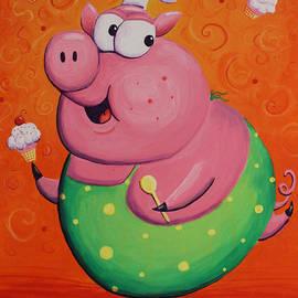 Jennifer Alvarez - This Little Piggy Baked Cupcakes
