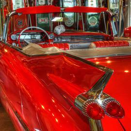 Bob Christopher - 1959 Cadillac At The Pumps