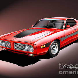 Danny Whitfield - 1973-1974 Dodge Charger