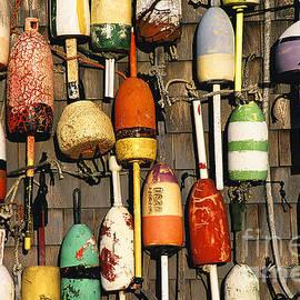 John Greim - Lobster buoys.
