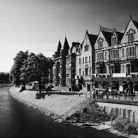 Joe Fox - ness walk by river ness flowing through inverness city highland scotland uk