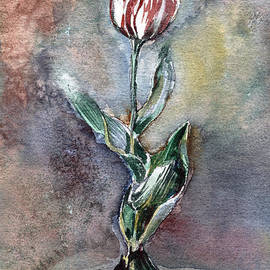 Mindy Newman - Red Tulip