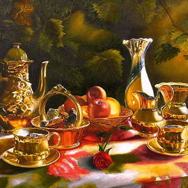 Vasily Zolottsev - The memories. Tea together.