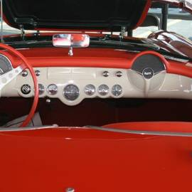 Robert Joseph - 1956 Red Corvette Convertible