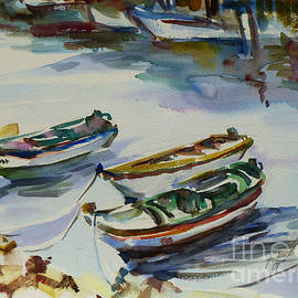 Xueling Zou - 3 Boats I