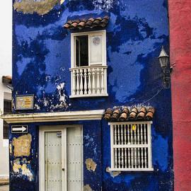 David Smith - Colonial buildings in old Cartagena Colombia