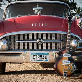 Toni Thomas - 55 Buick Special with 1957 Magnatone Mark V Guitar