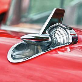 Guy Whiteley - 57 Chevy Hood Ornament 8509