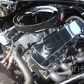Gary Gingrich Galleries - 67 Black Camaro SS 396 Engine-8033