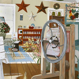 Jennifer  Donald - A Bag of Seed and Mulberry Jam