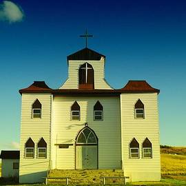 Jeff  Swan - Church and school in Bainville Montana