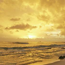 Michael Peychich - A Sunrise over Oahu Hawaii