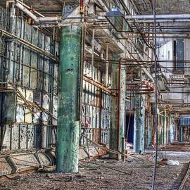 Cindy Lindow - Abandoned Factory Detroit