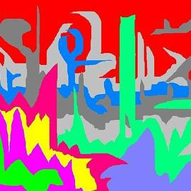Jerry Conner - Abstract 10 Landscape