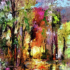 Ginette Callaway - Abstract Landscape Wetland Nature Scene