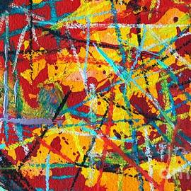 ANA MARIA EDULESCU - ABSTRACT PIZZA 1
